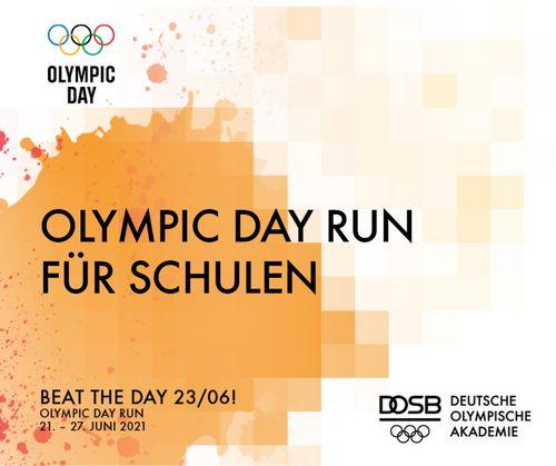 Challenge zum Olympic Day Run